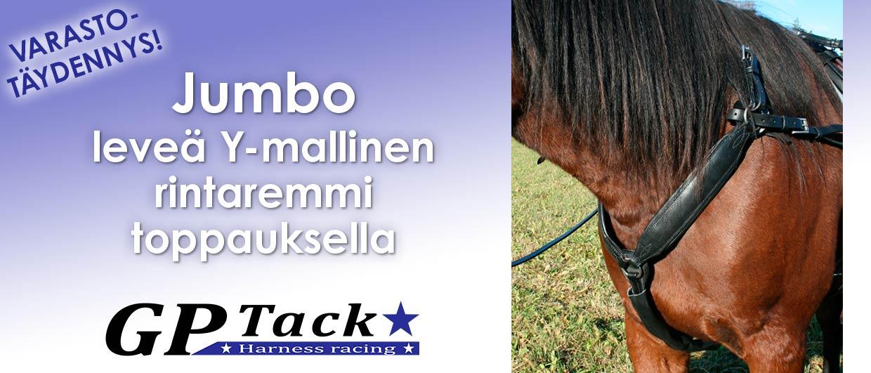GP Tack Jumbo y-mallinen rintaremmi