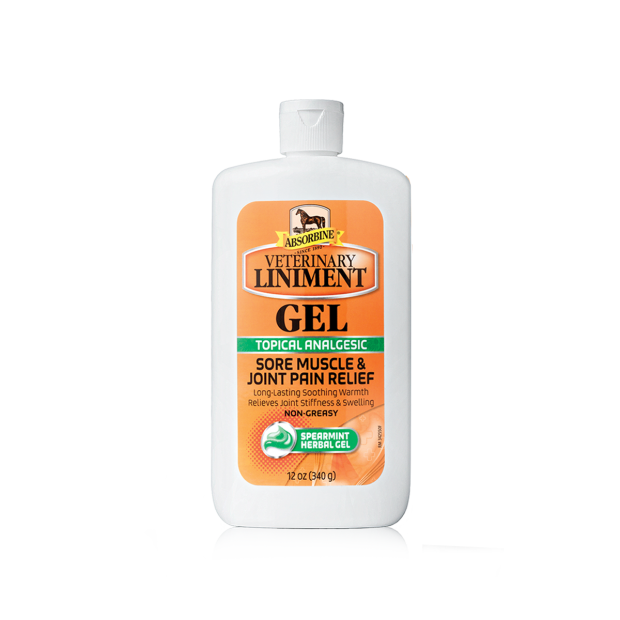Absorbine Veterinary Liniment Embrocation Gel 340 g
