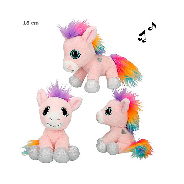 Ylvi and the Minimoomis Pehmolelu 18cm Roosy Rainbow