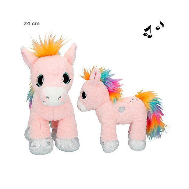 Ylvi and the Minimoomis Pehmolelu 24cm Roosy Rainbow